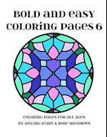 Bold and Easy Coloring Pages 6