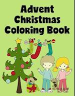 Advent Christmas Coloring Book