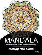 Mandala Therapy Anti Stress Vol.2