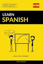 Learn Spanish - Quick / Easy / Efficient af Pinhok Languages