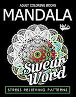 Adult Coloring Books Mandala Vol.3
