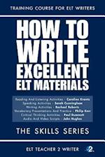 How to Write Excellent ELT Materials