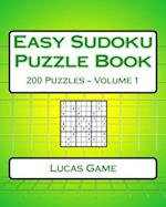 Easy Sudoku Puzzle Book Volume 1 af Lucas Game