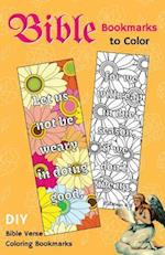 Bible Bookmarks to Color