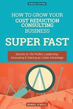How to Grow Your Cost Reduction Consulting Business Super Fast