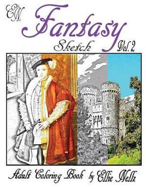 Bog, paperback Fantasy Sketch af Ellie Nellz