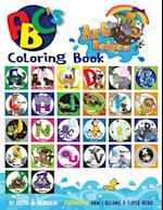 Ark Babies ABC's Coloring Book
