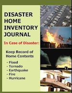 Disaster Home Inventory Journal