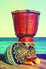 Colorful Maracas and an Ethnic Drum Musical Instruments Journal
