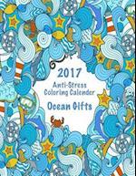 2017 Anti-Stress Coloring Calendar