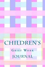 Children's Grief Work Journal