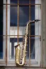 Cool Saxophone Musical Instrument Journal