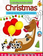 Christmas Swear Word Coloring Book Vol.3