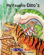 My Favorite Dino's Coloring Book