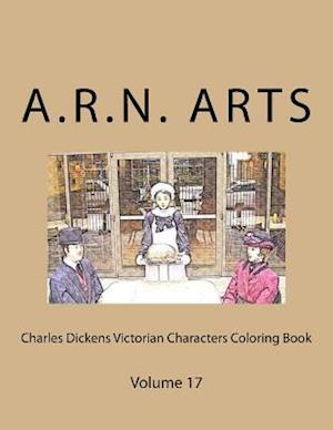 Bog, paperback Charles Dickens Victorian Characters Coloring Book af A. R. N. Arts