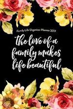 Family Life Organizer Planner 2017