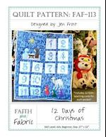 12 Days of Christmas Quilt Pattern
