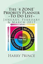 The '4 Zone' Priority Planner to Do List