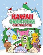 Kawaii Christmas Coloring Book