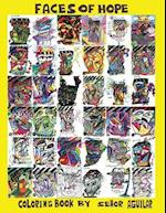 Faces of Hope Twentieth Anniversary Coloring Book af Ricardo Aguilar