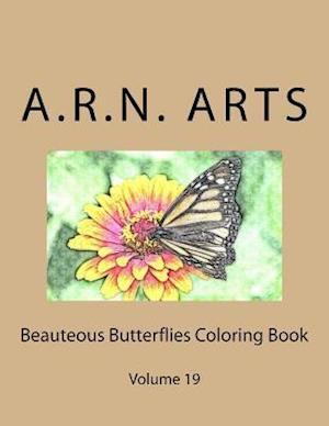 Bog, paperback Beauteous Butterflies Coloring Book af A. R. N. Arts