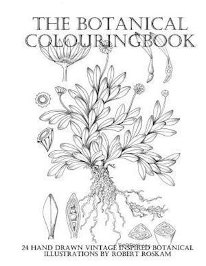 Bog, paperback The Botanical Colouringbook af Robert Roskam