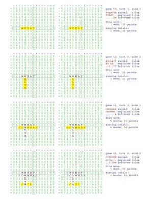 Bog, paperback Fifty Scrabble Box Scores Games 51-100 af MR Francis Gurtowski