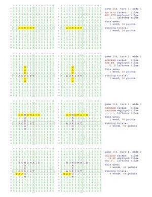 Bog, paperback Fifty Scrabble Box Scores Games 101-150 af MR Francis Gurtowski