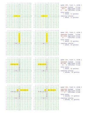 Bog, paperback Fifty Scrabble Box Scores Games 151-200 af MR Francis Gurtowski