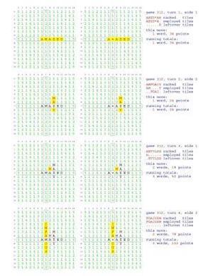 Bog, paperback Fifty Scrabble Box Scores Games 301-350 af MR Francis Gurtowski