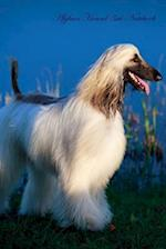Afghan Hound 3rd Notebook Record Journal, Diary, Special Memories, to Do List, Academic Notepad, and Much More af Breeds of Beauty