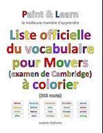 Liste Officielle Du Vocabulaire Pour Movers (Examen de Cambridge)