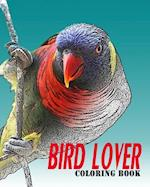 Bird Lover Coloring Book
