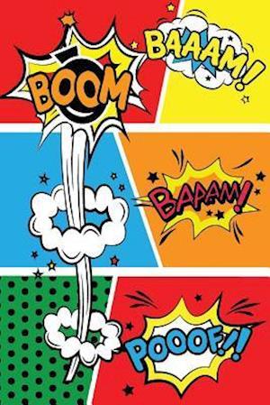 Bog, paperback Blank Comic Book for Kids af Me Journal