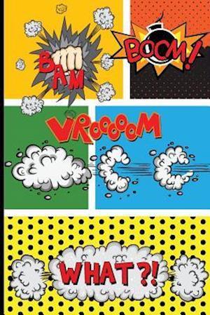 Bog, paperback Blank Comic Strips af Me Journal