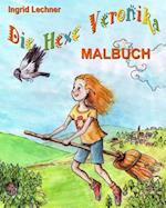 Die Hexe Veronika - Malbuch af Ingrid Lechner