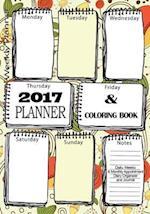 2017 Planner Coloring Book