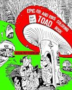 Epic MR and Mrs Toad Adult Coloring Book