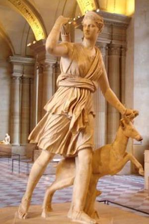Bog, paperback A Statue of Artemis Diana of Versailles in Rome af Unique Journal