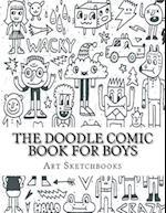 The Doodle Comic Book for Boys af Art Journaling Sketchbooks