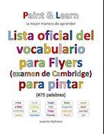 Lista Oficial del Vocabulario Para Flyers (Examen de Cambridge)