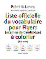 Liste Officielle Du Vocabulaire Pour Flyers (Examen de Cambridge)