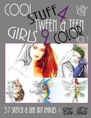 Bog, paperback Cool Stuff 4 Tween & Teen Girls 2 Color af Ellie Nellz
