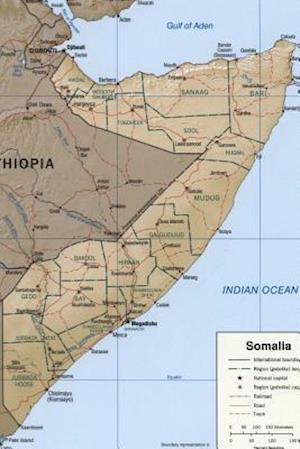 Bog, paperback A Map of Somalia af Unique Journal
