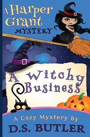 Bog, paperback A Witchy Business af D. S. Butler