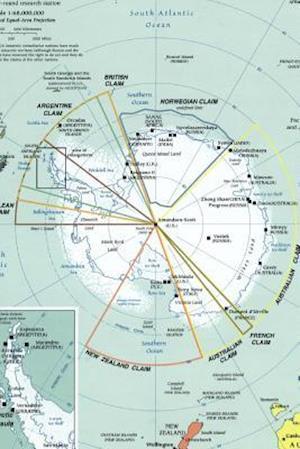 Bog, paperback A Map of the Antarctic Region af Unique Journal