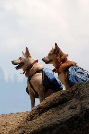 Bog, paperback Dogs with Backpacks Journal af Cool Image