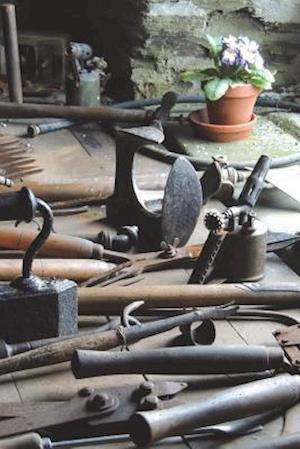Bog, paperback Garden Shed Tools with Flower Pots Journal af Cool Image
