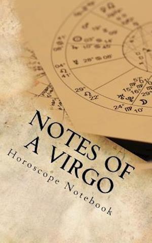 Bog, paperback Notes of a Virgo af Horoscope Blank Notebook