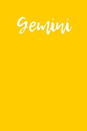 Bog, paperback Gemini af Passion Imagination Journals